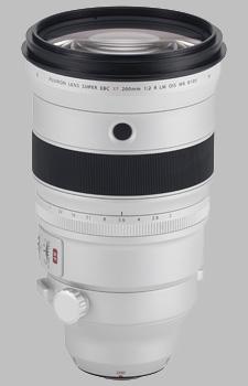 image of the Fujinon XF 200mm f/2 R LM OIS WR + XF 1.4X TC F2 WR Kit lens