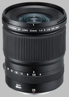 image of the Fujinon GF 23mm f/4 R LM WR lens