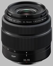 image of the Fujinon GF 35-70mm f/4.5-5.6 WR lens