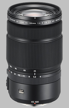 image of the Fujinon GF 45-100mm f/4 R LM OIS WR lens