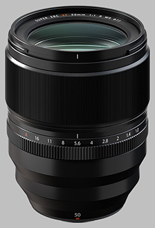 image of the Fujinon XF 50mm f/1.0 R WR lens