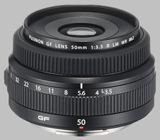 image of the Fujinon GF 50mm f/3.5 R LM WR lens
