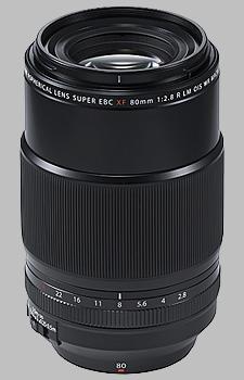 image of the Fujinon XF 80mm f/2.8 R LM OIS WR Macro lens
