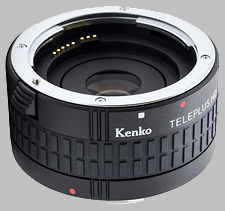 image of the Kenko 2X Teleplus HD DGX lens