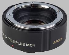 image of the Kenko 2X Teleplus MC4 DGX AF lens