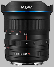 image of the Laowa 10-18mm f/4.5-5.6 FE lens