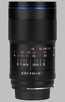 image of the Laowa 100mm f/2.8 2X Ultra Macro lens