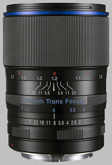 image of the Laowa 105mm f/2 STF lens