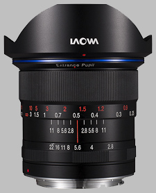 image of the Laowa 12mm f/2.8 Zero-D lens