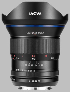 image of the Laowa 15mm f/2 FE Zero-D lens