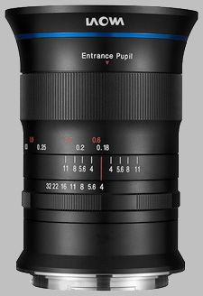 image of the Laowa 17mm f/4 Zero-D GFX Zero-D lens
