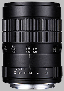 image of the Laowa 60mm f/2.8 2X Ultra Macro lens