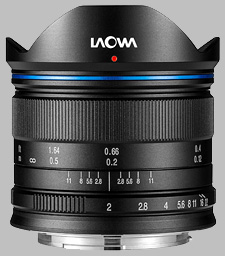 image of the Laowa 7.5mm f/2 MFT lens