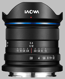 image of the Laowa 9mm f/2.8 Zero-D lens