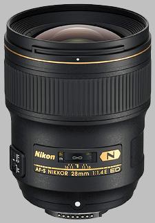 image of the Nikon 28mm f/1.4E ED AF-S Nikkor lens