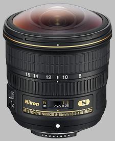 image of the Nikon 8-15mm f/3.5-4.5E ED AF-S Fisheye Nikkor lens