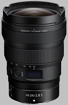 image of the Nikon Z 14-24mm f/2.8 S Nikkor lens