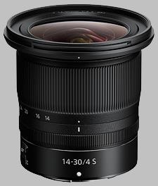 image of the Nikon Z 14-30mm f/4 S Nikkor lens