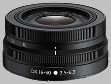 image of the Nikon Z 16-50mm f/3.5-6.3 VR DX Nikkor lens