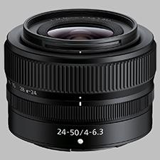 image of the Nikon Z 24-50mm f/4-6.3 Nikkor lens