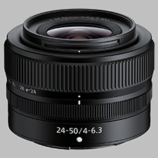 image of the Nikon Z 24-50mm f/4-6.3 Nikkor lens