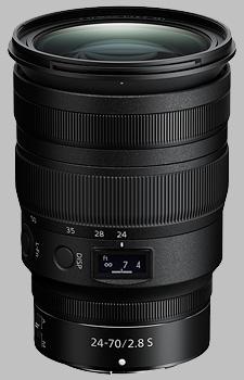 image of the Nikon Z 24-70mm f/2.8 S Nikkor lens