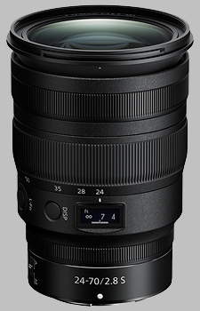 image of the Nikon Z 24-70mm f/2.8 S Nikkor lens