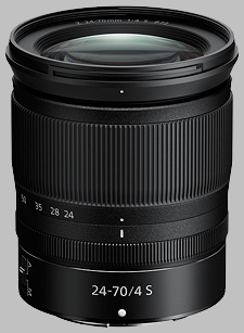 image of the Nikon Z 24-70mm f/4 S Nikkor lens