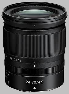 image of the Nikon Z 24-70mm f/4 S Nikkor lens