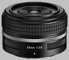image of the Nikon Z 28mm f/2.8 (SE) Nikkor lens