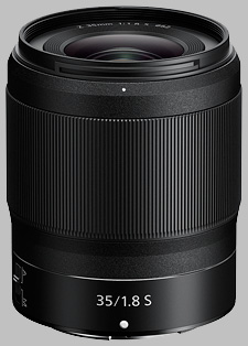 image of the Nikon Z 35mm f/1.8 S Nikkor lens