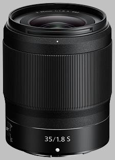 image of the Nikon Z 35mm f/1.8 S Nikkor lens