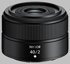 image of Nikon Z 40mm f/2 Nikkor