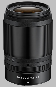 image of the Nikon Z 50-250mm f/4.5-6.3 VR DX Nikkor lens