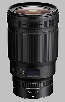 image of the Nikon Z 50mm f/1.2 S Nikkor lens