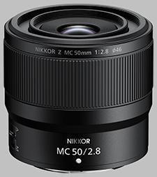 image of the Nikon Z MC 50mm f/2.8 Nikkor lens