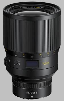 image of the Nikon Z 58mm f/0.95 S Noct Nikkor lens