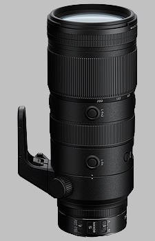 image of the Nikon Z 70-200mm f/2.8 VR S Nikkor lens