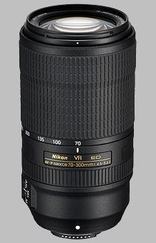 image of the Nikon 70-300mm f/4.5-5.6E ED VR AF-P Nikkor lens