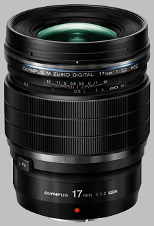 image of the Olympus 17mm f/1.2 Pro M.Zuiko Digital ED lens