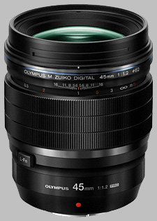 image of the Olympus 45mm f/1.2 Pro M.Zuiko Digital ED lens