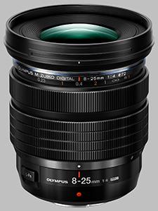 image of the Olympus 8-25mm f/4 Pro M.Zuiko Digital ED lens