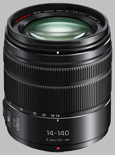 image of the Panasonic 14-140mm f/3.5-5.6 II ASPH POWER OIS LUMIX G VARIO lens