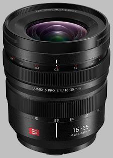 image of the Panasonic 16-35mm f/4 LUMIX S PRO lens