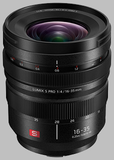 image of the Panasonic 16-35mm f/4 LUMIX S PRO lens