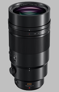 image of the Panasonic 200mm f/2.8 POWER OIS LEICA DG ELMARIT lens