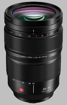 image of the Panasonic 24-70mm f/2.8 LUMIX S PRO lens