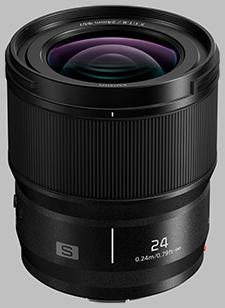 image of the Panasonic 24mm f/1.8 LUMIX S lens