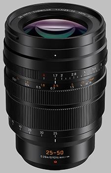 image of the Panasonic 25-50mm f/1.7 ASPH LEICA DG VARIO-SUMMILUX lens