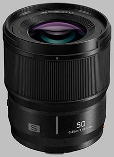 image of the Panasonic 50mm f/1.8 LUMIX S lens